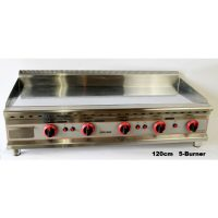 INFERNUS Counter Top 1200mm 5 Burner LPG-Ready Gas Griddle