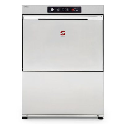 SAMMIC S-61B Dishwasher with Constant Rinse Temp System & Drain Pump