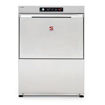 SAMMIC X-tra Line Multi-Phase Dishwasher with Water Softener & Drain Pump X-51BD