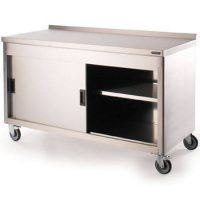 MOFFAT FWC1865 Wall Bench with Ambient Storage Cupboard