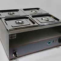 INFERNUS BMP Digital Wet Bain Marie 4 x GN 1 2 Pans