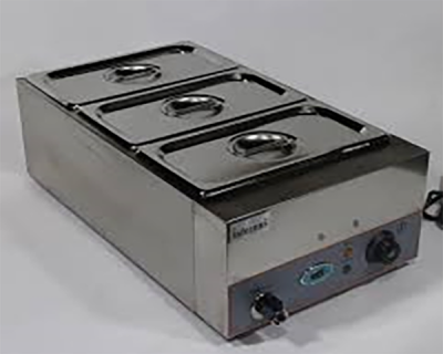 INFERNUS BMP165 Digital Wet Bain Marie 3 x GN 1 3 Pans