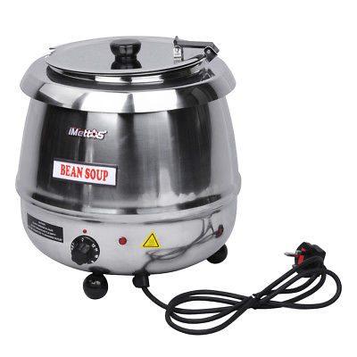 iMettos SB-6000S Soup Kettle 10L