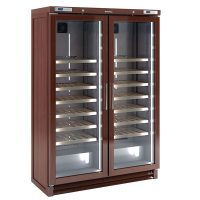Infrico EVV200MX Upright Double Door Wine Cellar 700L