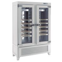 Infrico EVV49R2G Upright Double Door Wine Cellar 640L