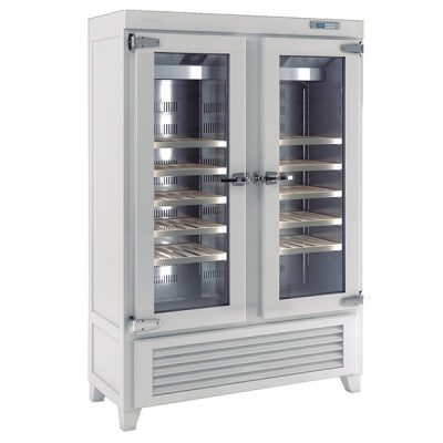 Infrico EVV49R2G Upright Double Door Wine Cellar 640L