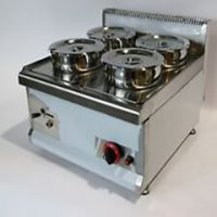 INFERNUS 4 Pot Wet Bain Marie 4 x 7L GAS