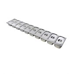 Lincat SGP10010A Pack of 13 GN Containers with choice of Lids for FDB10 Food Display Bar