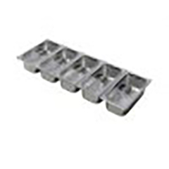 Lincat SGP1005A Pack of 13 GN Containers with choice of Lids for FDB5 Food Display Bar