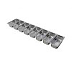 Lincat SGP1008A Pack of 13 GN Containers with choice of Lids for FDB8 Food Display Bar