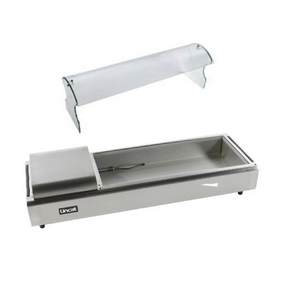 Lincat SSG5 Self Service Curved Glass Cover for FDB5 Food Display Bar
