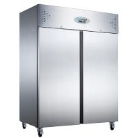 KOLDBOX KXF1200 Double Door Ventilated SS GN Freezer, 1200L