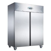 KOLDBOX KXR1200 Double Door Ventilated SS GN Fridge, 1200L