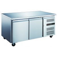 Blizzard HBC2NU Two Door GN 1/1 Counter Fridge Without Upstand 282L