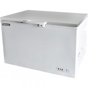 Blizzard CF450SS Stainless Steel Lid Chest Freezer 450L