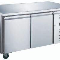 Blizzard LBC2NU Two Door GN 1/1 Counter Freezer Without Upstand 282L
