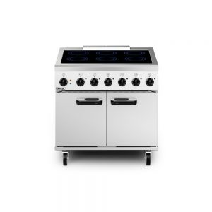 Lincat PHER01 Phoenix Electric Free-standing Induction Oven Range - 6-Zone