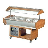 Blizzard GB4-COLD Cold Buffet Display 4 x GN1/1