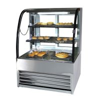 Frost Tech HP75-100 Heated Patisserie Display 1000mm Wide