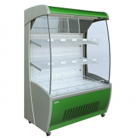 Mafirol PESSOA850 WH 1250-FV-FL Fruit and Vegetable Tiered Display 1330mm Wide