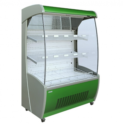 Mafirol PESSOA850 WH 1450-FV-FL Fruit and Vegetable Tiered Display 1530mm Wide