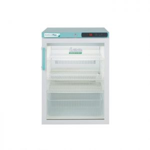 LEC Medical PPGR158UK Undercounter Glass Door Control Plus Pharmacy Refrigerator 158L