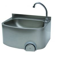 Parry CWBKNEE Stainless Steel Knee Operated Hand Basin