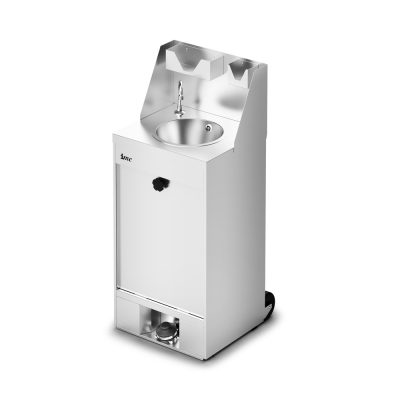 IMC F63/503 Mobile Hand Wash Station without Heater - inc. S/back, Soap & Paper Towel Holder - Cold Water