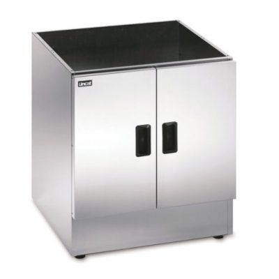 LINCAT CC6 Silverlink 600 Free-standing Ambient Open-Top Pedestal with Doors, 600mm