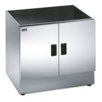 LINCAT CC7 Silverlink 600 Free-standing Ambient Open-Top Pedestal with Doors, 750mm