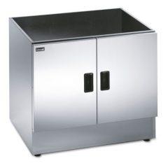LINCAT CC7 Silverlink 600 Free-standing Ambient Open-Top Pedestal with Doors, 750mm