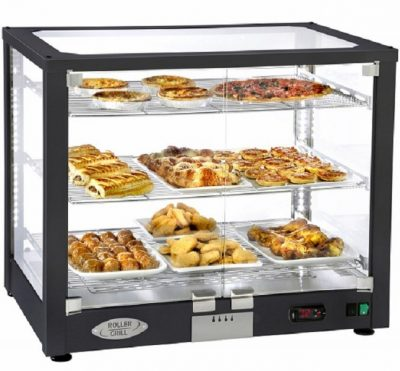 Roller Grill WD780D Countertop Heated Display Case 780mm
