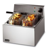 Lincat LFF Lynx 400 Electric Counter-top Fish Fryer Single Tank 2 Baskets 5L
