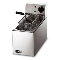 Lincat LSF Lynx 400 Electric Counter-top Slimline Fryer, Single Tank 2.5L