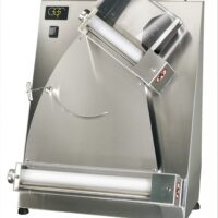 """GGF S42-A 235 Pizza 16"""" Dough Roller with foot pedal"""