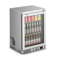 IMC Mistral M60 Reduced Height Single Glass Door Bottle Cooler, SS Frame (F77/151) 850mm (h)