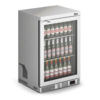 IMC Mistral M60 Standard Single Glass Door Bottle Cooler, SS Frame (F77/150)