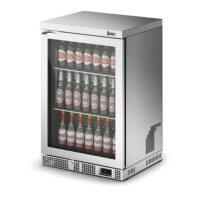 IMC Mistral M60 Standard Single Glass Door Bottle Cooler, Silver Frame (F77150SL)