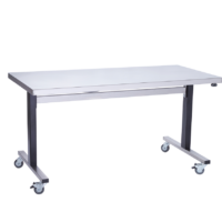 Parry ADJTAB15750EF Stainless Steel Height Adjustable Table, 1500mm (w)