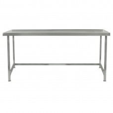 Parry TABN12700 Stainless Steel Centre Table with Void, 1200mm(w)