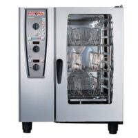Rational 10 Grid Electric CombiMaster Plus 101E with UGII Mobile Stand