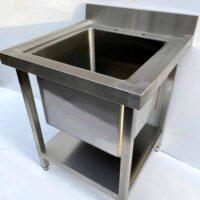 NOWAH Stainless Steel Single Deep Bowl Pot Wash Sink 700mm