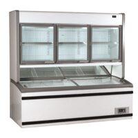 FRICON Combi Wallsite Freezer, Top Unit 688L, Base Unit 805L