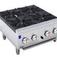 Infernus Counter-top 4 x 7kW Gas Burner Hob