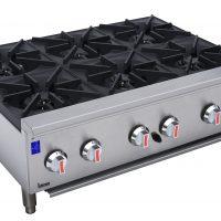 Infernus Counter-top 6 x 7kW Gas Burner Hob