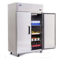 Atosa MBF8117HD Top Mounted Upright Double Door Refrigerator 1300 Litres