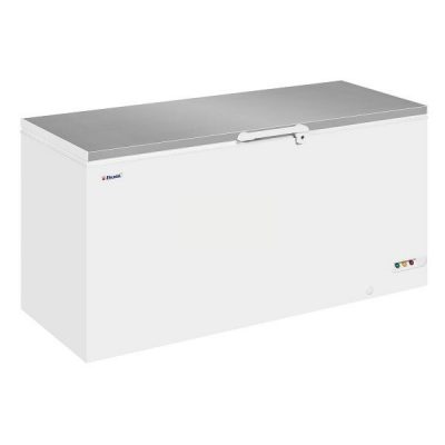 Elcold EL61SS Stainless Steel Lid Ice Cream Chest Freezer, 607L