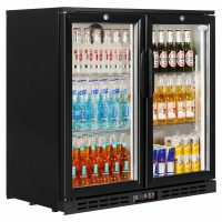Interlevin Black PD20H Back Bar Chiller