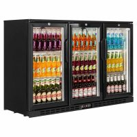 Interlevin Black PD30H Back Bar Chiller