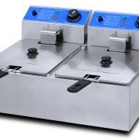 ANVIL 2 x 5L Countertop Double Tank Electric Fryer FFA-2002